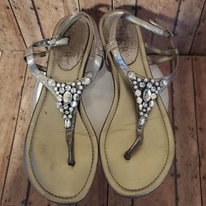 Womens 11 thong Sandles with Bling